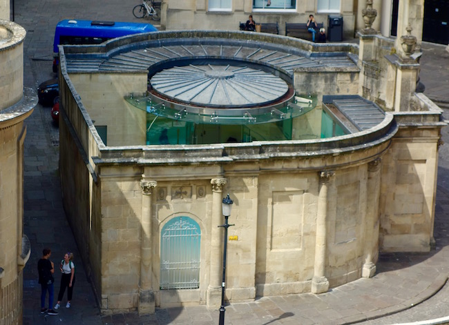 Spa like Jane Austen in Bath at Cross Bath
