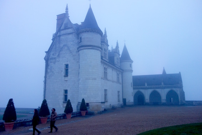 Christmas at Loire Valley chateaus Amboise