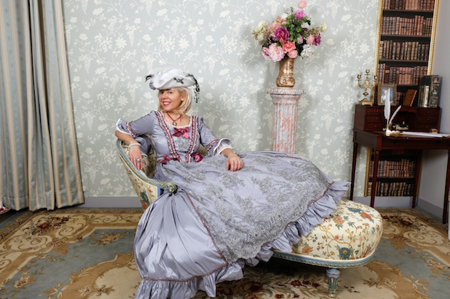 Chanelling Marie Antoinette in Versailles Costumes & Chateaux