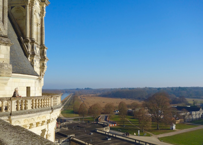 Visiting Chateau de Chambord in the Loire Valley of France