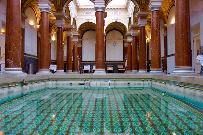 How to spa, pools at Marianske Lazne