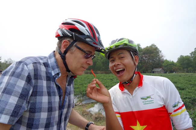 Best day trips from Saigon, cycling with Grasshopper Adventures