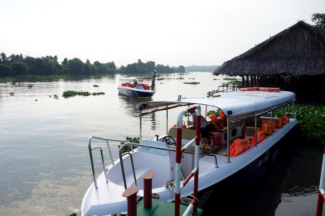Cu Chi Tunnels Tour by Speedboat