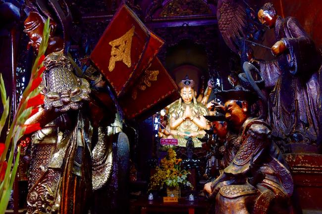 Jade Emperor Pagoda in Ho Chi Minh Vietnam