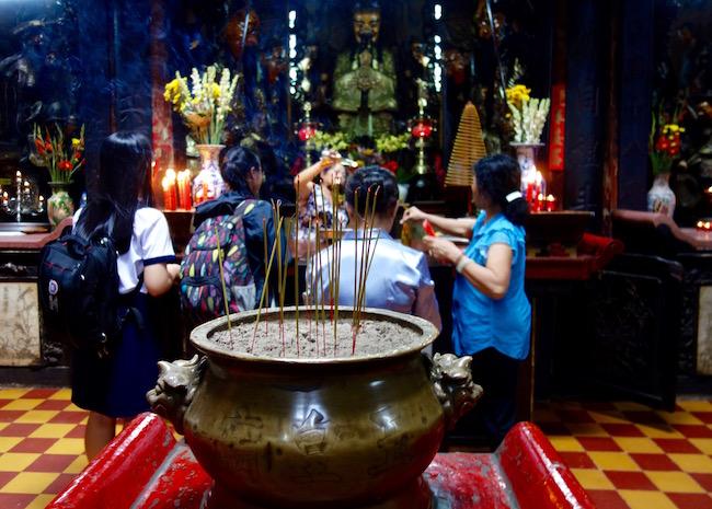 Jade Emperor, shrine in Saigon