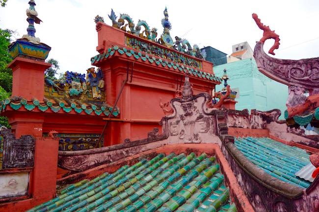 Rooftop Jade Pagoda Ho Chi Minh