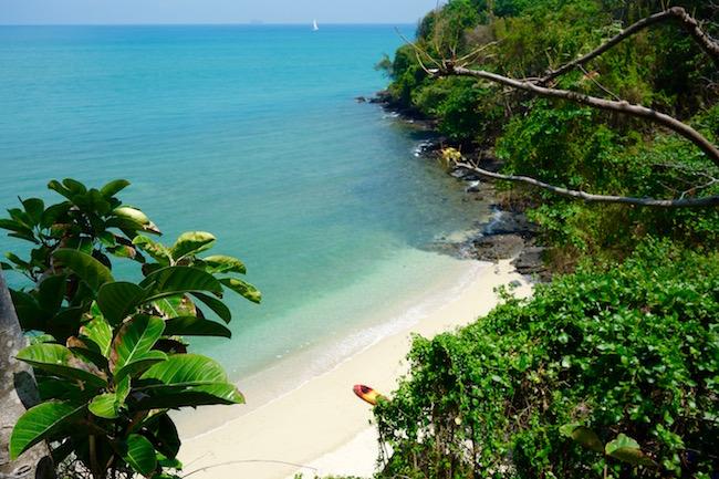 Beach at Sri Panwa Thailand
