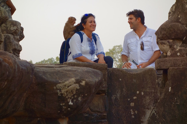 Monkey at Bakong Angkor travel tips