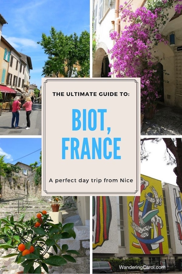 Biot makes a great day trip from Nice in the South of France. With a history of pirates, flower-filled lanes and a strong tradition in glass and ceramics, you can easily spend a day here exploring. Check out this post for the top things to do in Biot, France. #travel #SouthofFrance #Riviera #Biot #Nice #France