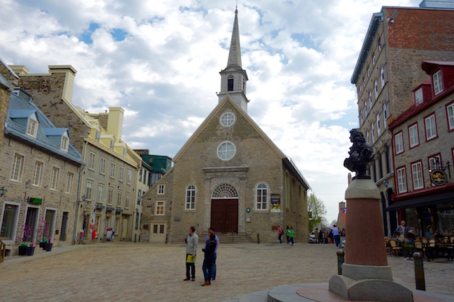 Top places to visit in Old Quebec, Place Royale