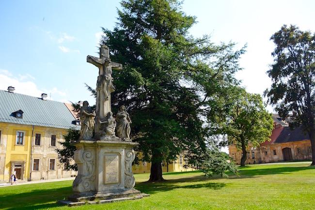 Touring Tepla Monastery Bohemia