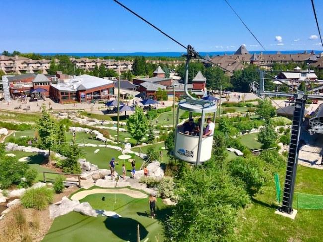 Things to do in Blue Mountain, Ontario, take the gondola