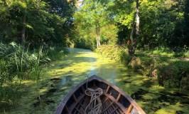 Paddling the Boyne Canal