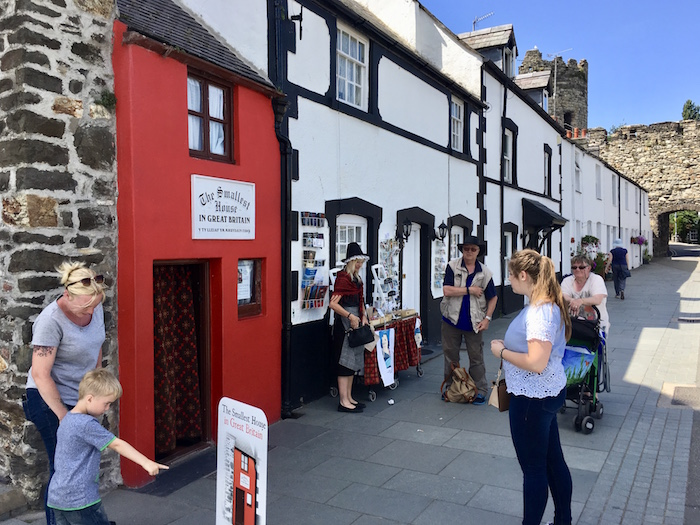 Conwy, smallest house in Britain
