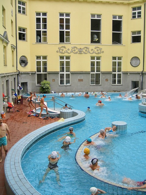Budapest Baths Lukacs mineral baths
