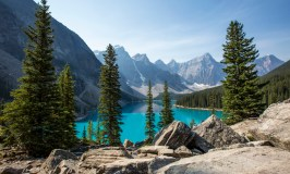 Rocky Mountaineer Canada, Moraine Lake