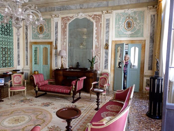 Salon in Imperiale San Marco apartment rental in Venice