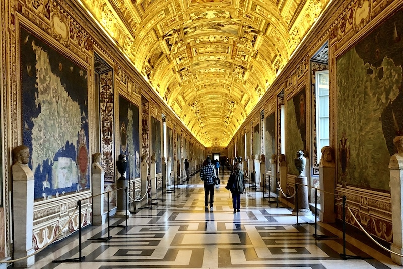 Gallery of Maps at the Vatican