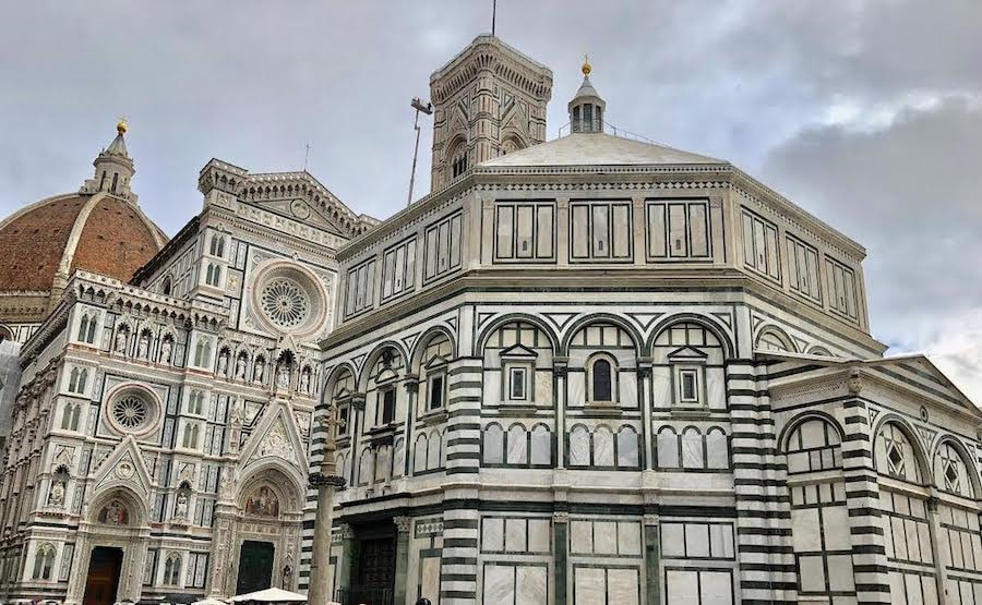 Florence Duomo beautiful exterior with 3 colors of marble