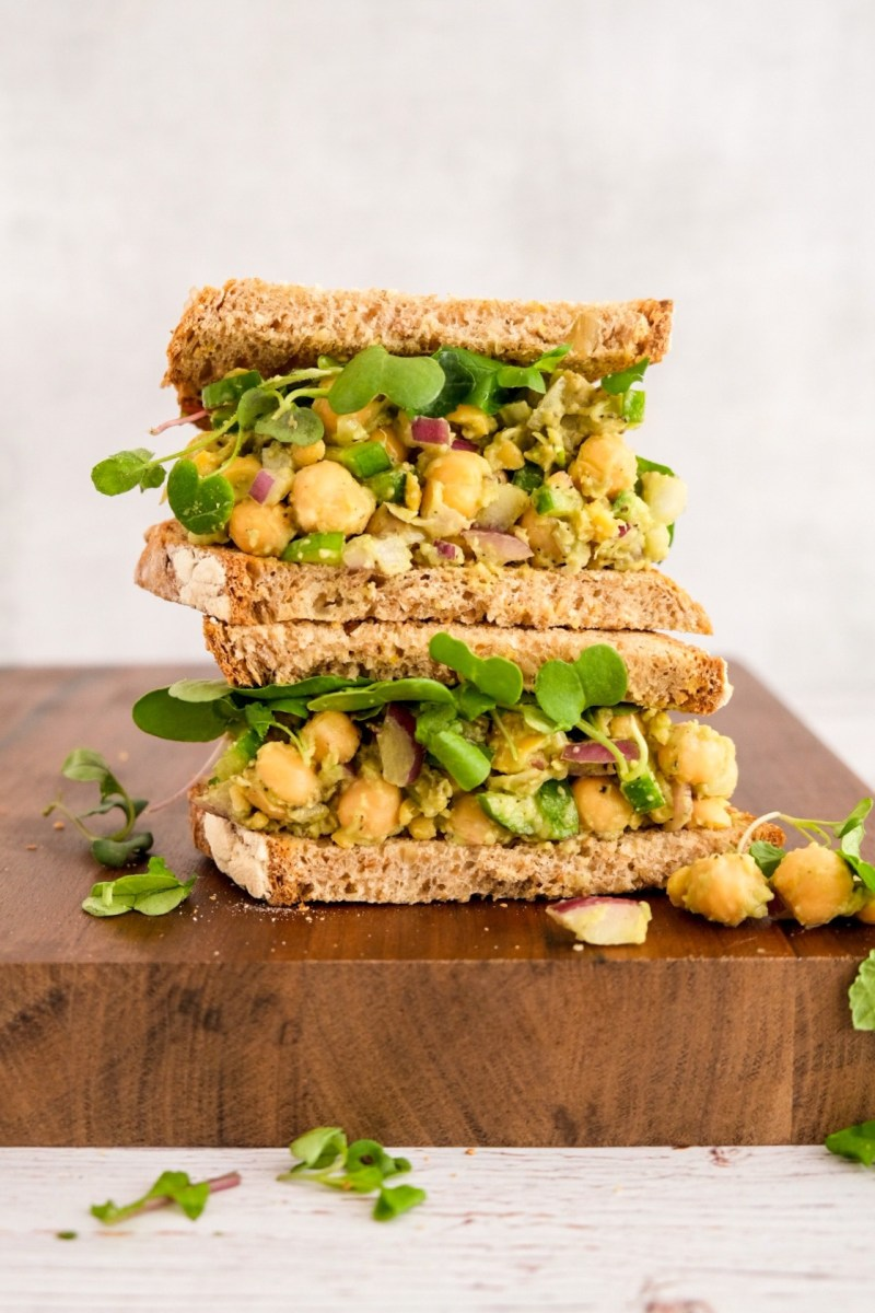 "vegan avocado chickpea tuna salad"" class="