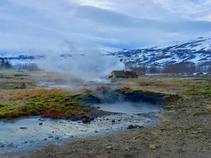 Geysir in Iceland Road Trip safety tips