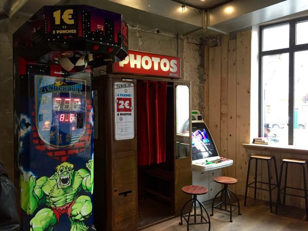 Challenge your hostel mates to a fighting game or capture memories!