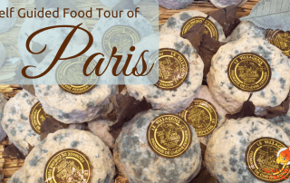 Self Guided Food Walking of Paris