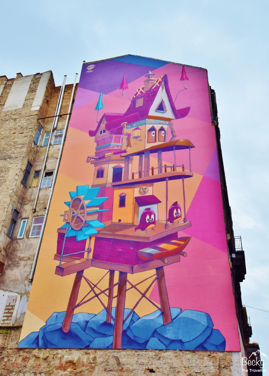 Budapest Street Art Hipster guide