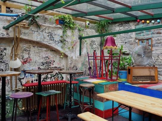 Szimpla Kert Ruin Pub Budapest Hungary