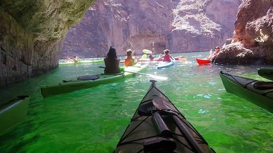 Outdoor Activities in Las Vegas Kayaking