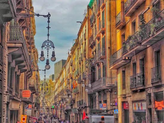 Barcelona Streets, Spain Wandering Chocobo