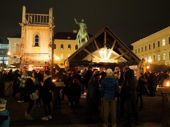 Munich Christmas Market Medieval