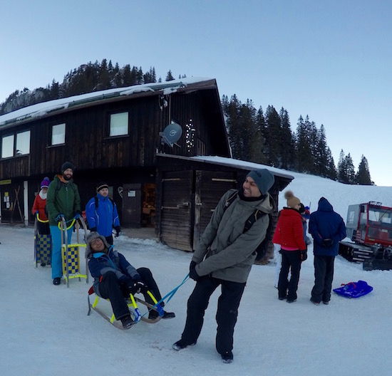 Winter Day Trip from Munich Sledding Spitzingsee 4