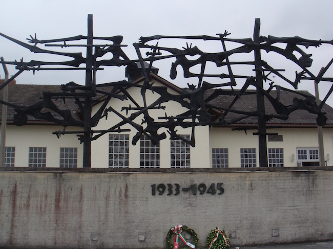 Day Trip from Munich to Dachau memorial sculpture