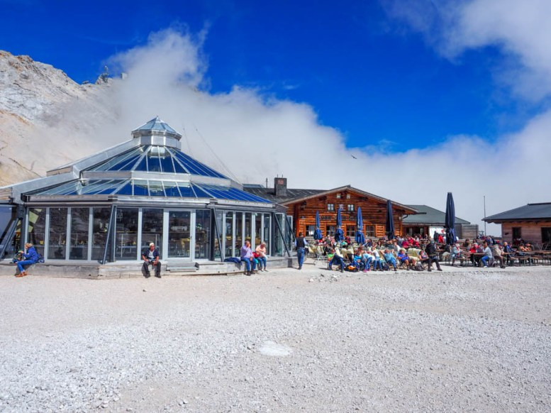 Zugspitze Gletscher Glacier