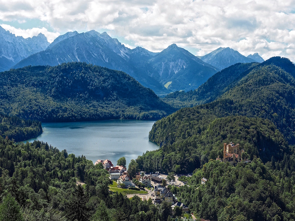 Shloss Hohenschwangau castle Bavaria Germany