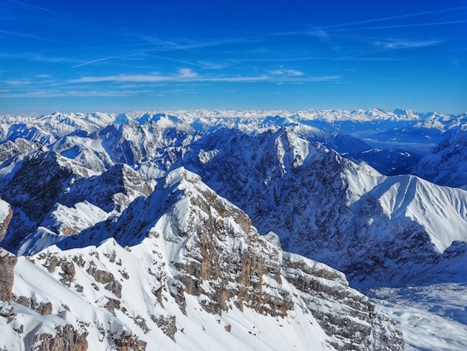 Zugspitze Germanys tallest peak Wandering Chocovo
