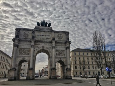 Siegestor Gate in Munich, find the best neighborhoods for nightlife in Munich.
