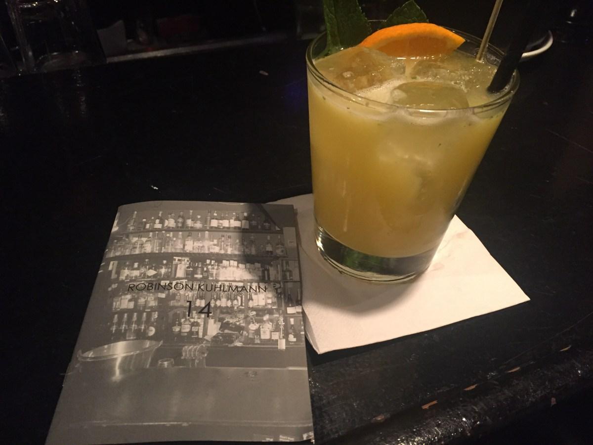 Robinson's NYC Munich Cocktail Bar