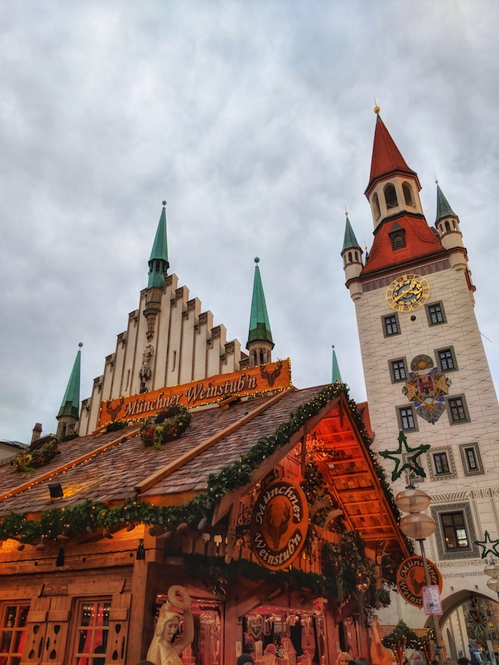Things to do in Munich in the Winter. Munich's Christmas Markets Marienplatz, Germany