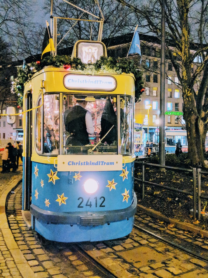 Things to do in Munich in the Winter. Munich's Christmas Tram
