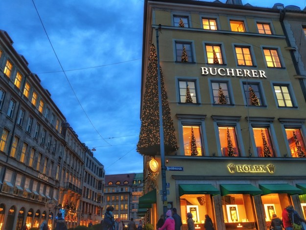 Things to do in Munich in the Winter, go shopping.