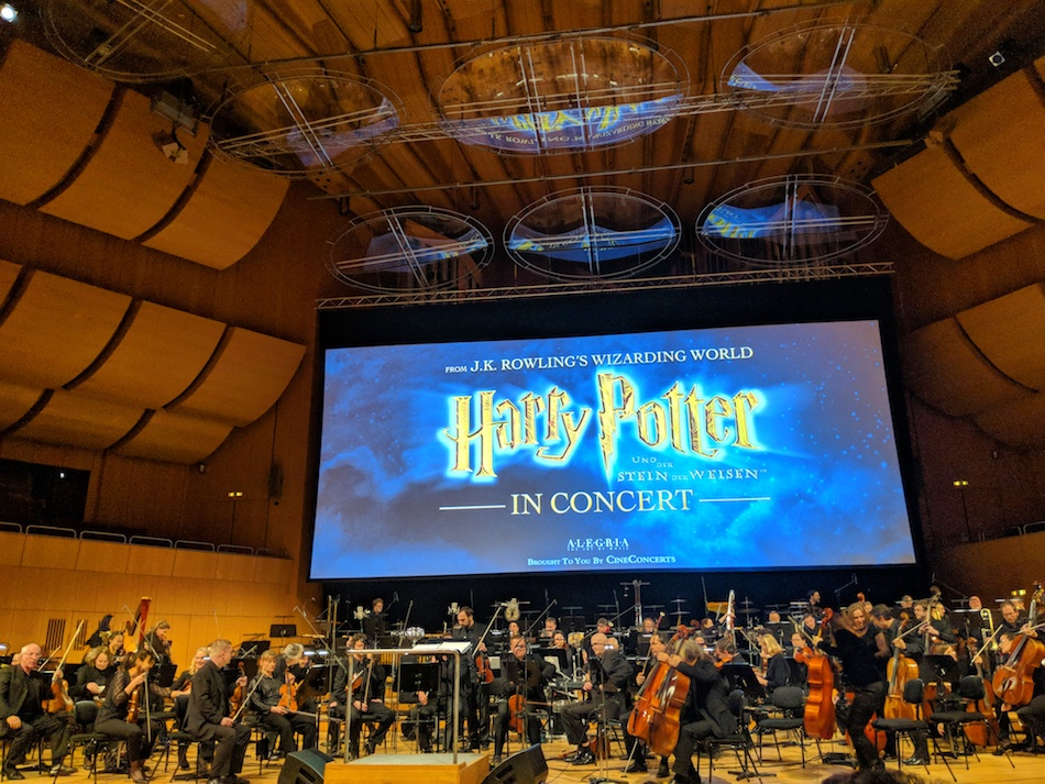 Attending Harry Potter in Concert in Munich, Germany. Things to do in Munich in the winter.