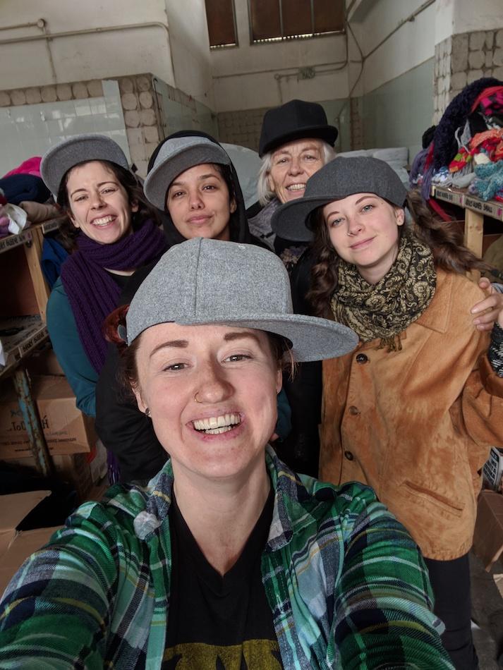 Samos Volunteers. Volunteering in a refugee camp in Europe.