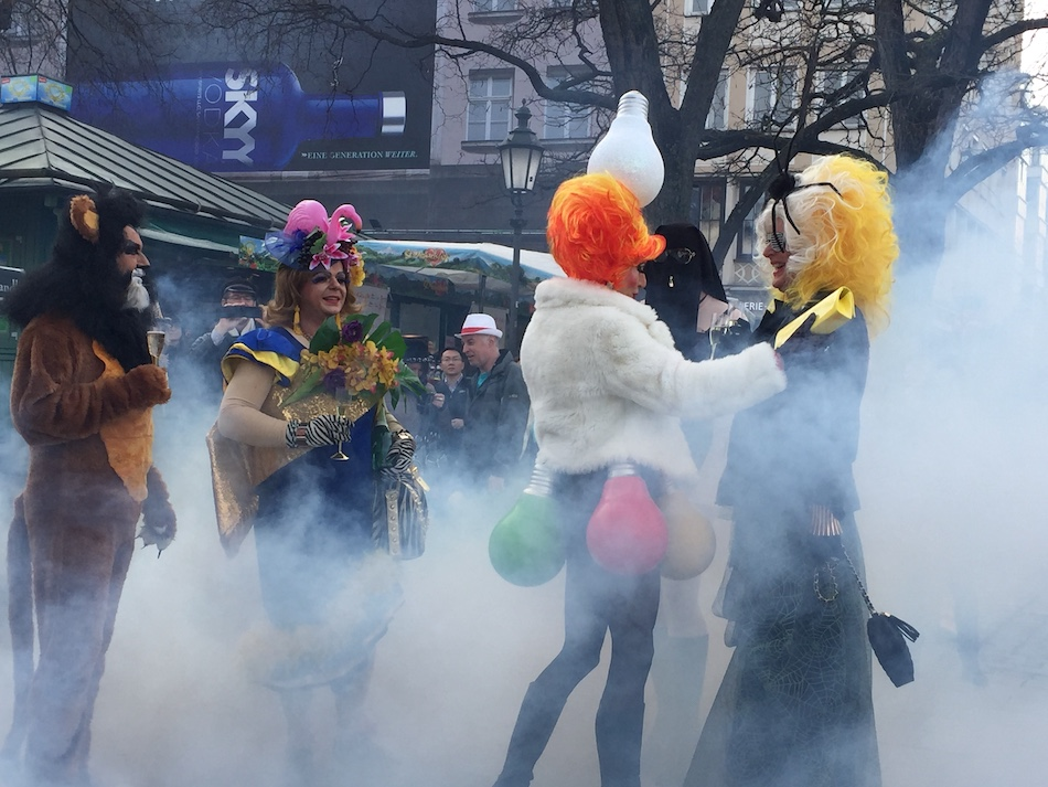 Things to do in Winter, go to Carnival or Fasching.