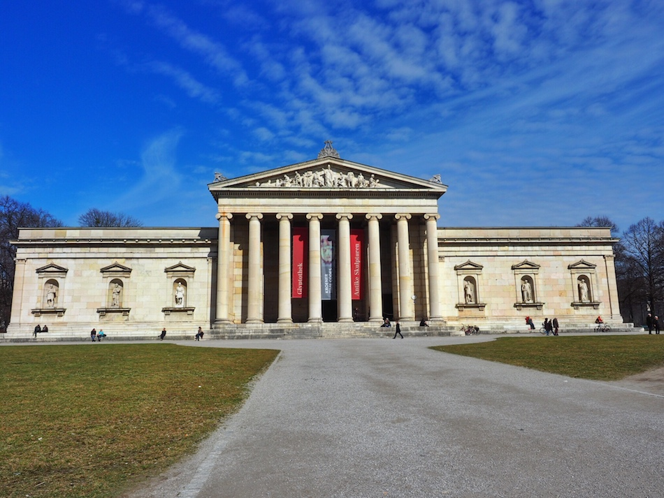 Museum in Munich at Königsplatz