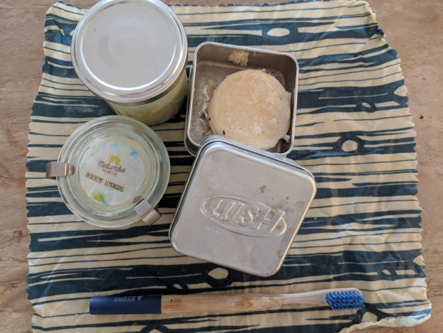 Lush sustainable hygiene products