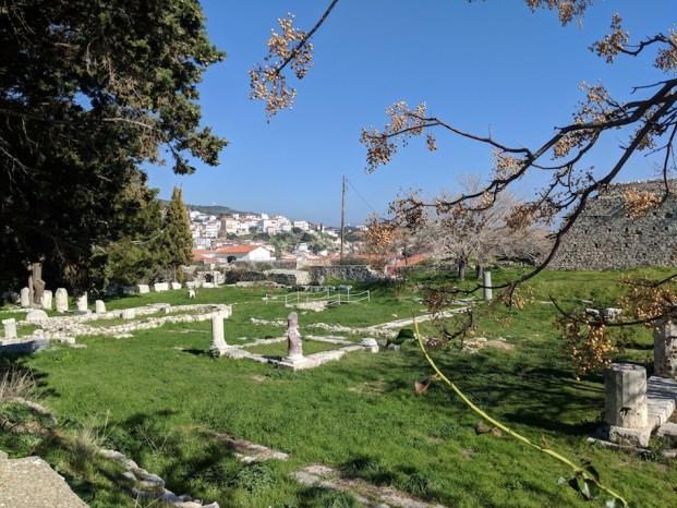 Pythagoreio, Samos, Greece. Greek Ruins.