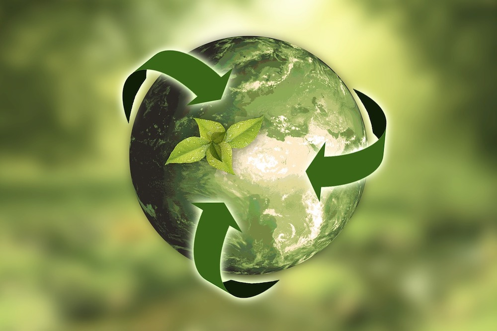 earth month recycle