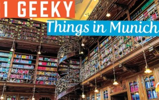 geeky and nerdy things to do in Munich. Find the best museums, comic con, board game and comic stores